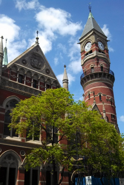 The Victorian-era Jefferson Market Courthouse