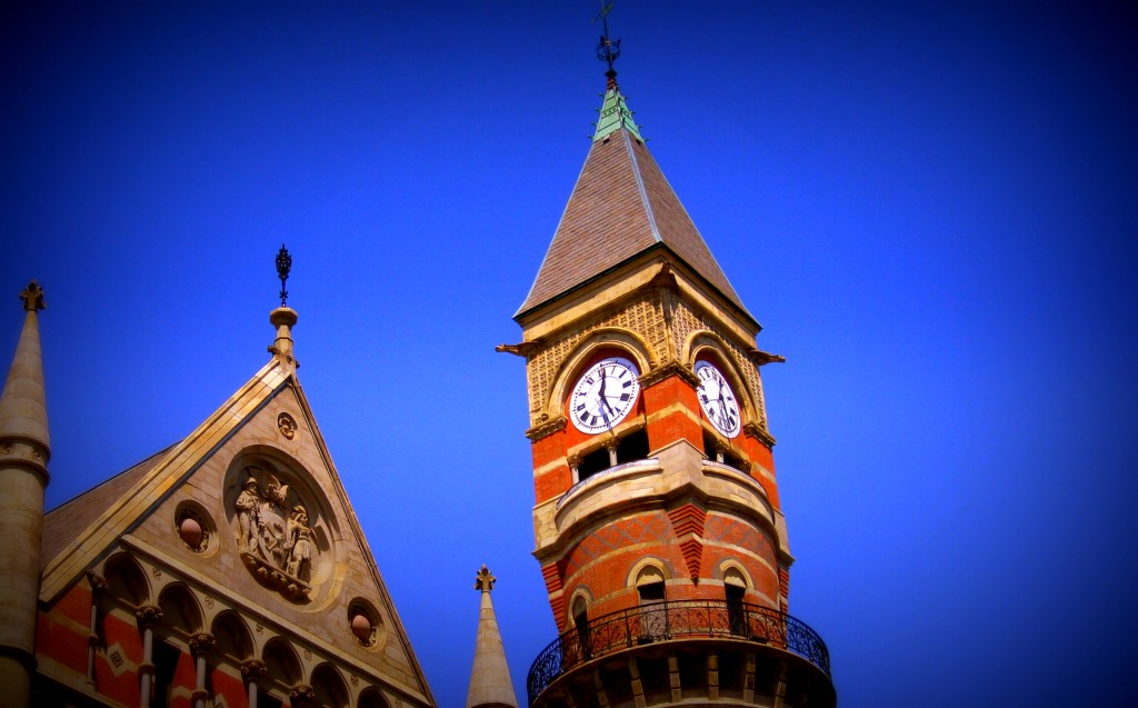 One of my favorite castles in New York - the Jefferson Market Library