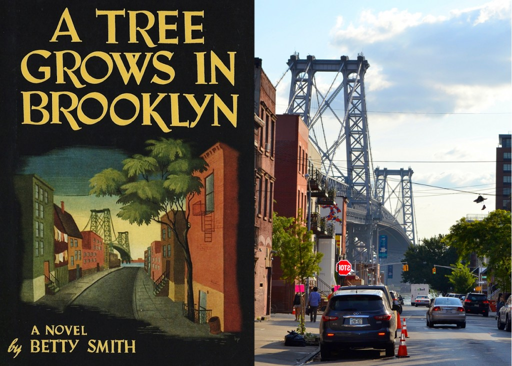 A Tree Grows in Brooklyn Cover vs Real Life