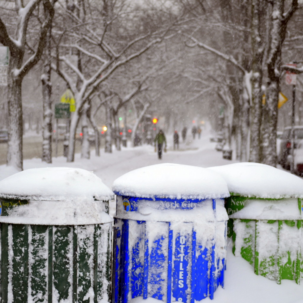 A blizzard is no excuse to stop recycling